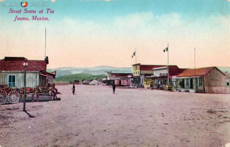 Calle principal de Tijuana