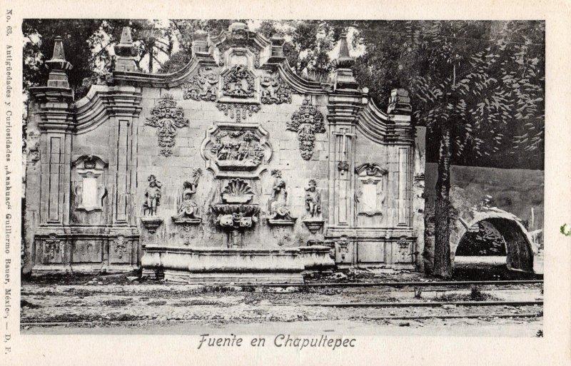Fuente en Chapultepec
