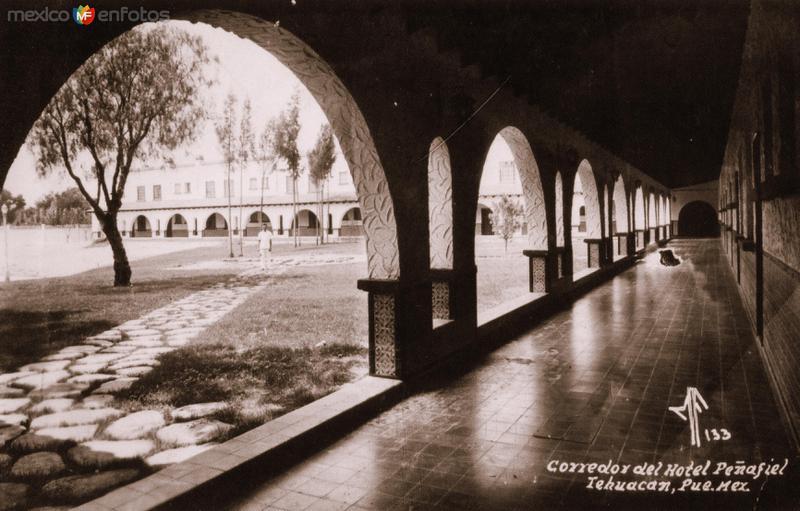 Corredor del Hotel Peñafiel