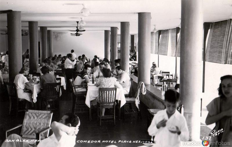 Comedor del Hotel Playa Hermosa