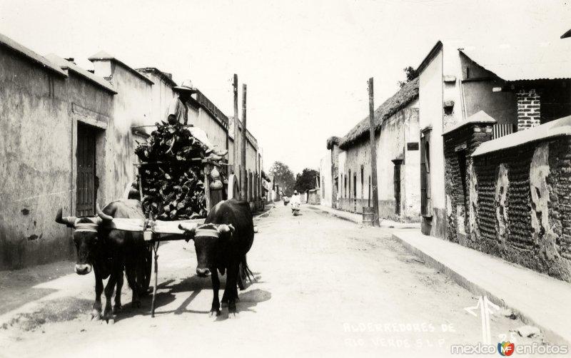 Fotos de Rioverde, San Luis Potos�, M�xico: Calles de R�o Verde