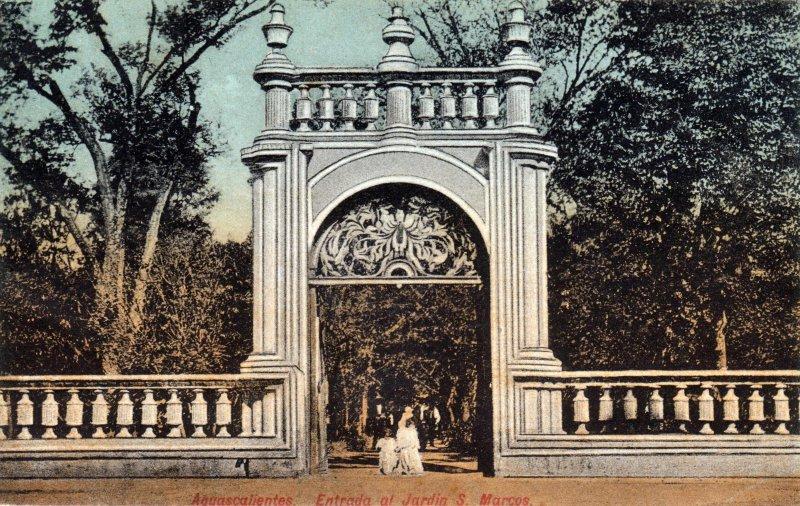 Entrada al Jardín de San Marcos