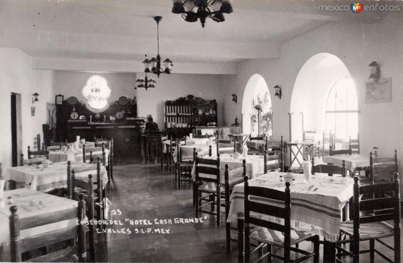Comedor del Hotel Casa Grande