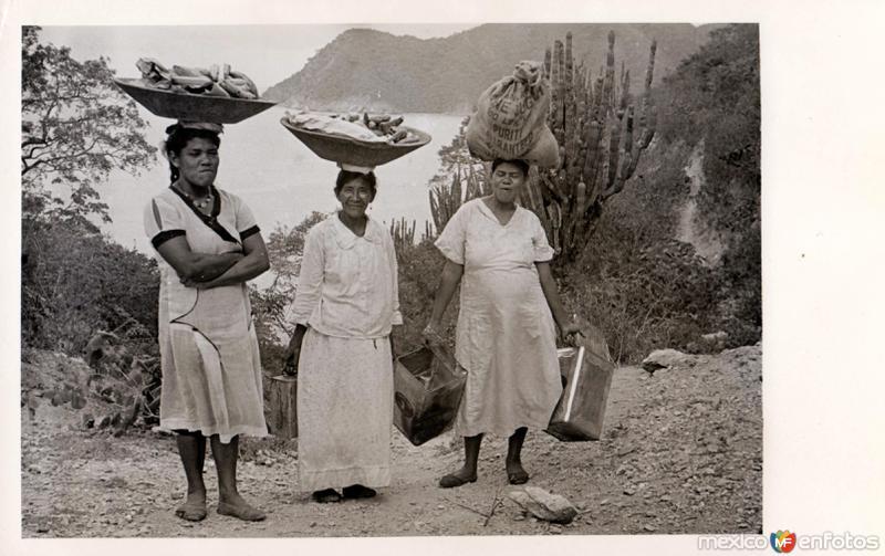 Vendedoras de pan