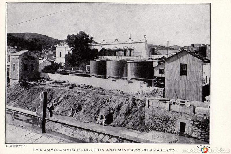 Fotos de Guanajuato, Guanajuato, M�xico: Guanajuato Reduction and Mines Company