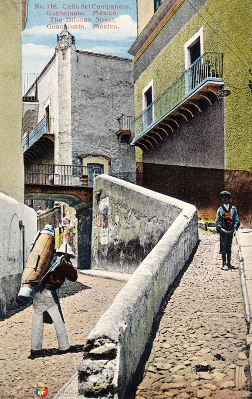 Fotos de Guanajuato, Guanajuato, M�xico: Calle del Campanero
