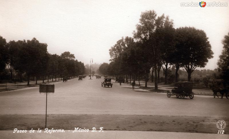 Fotos de Ciudad de M�xico, Distrito Federal, M�xico: Paseo de la Reforma