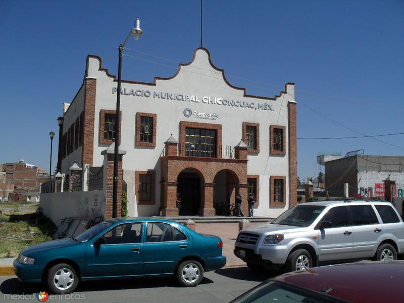 Palacio municipal de Chiconcuac