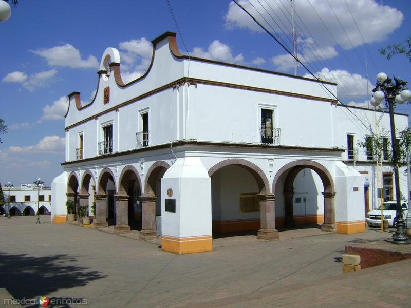 Palacio Municipal de Amealco de Bonfil, Qro. Marzo/2012