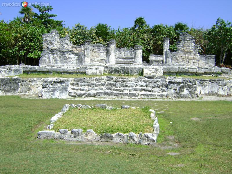 Ruinas mayas El Rey. Cancún. Abril/2012