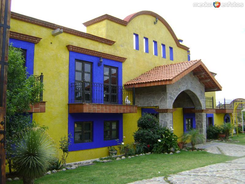Fotos de Santa María Atlihuetzía, Tlaxcala, México: Arquitectura en Atlihuetzía, Tlaxcala. Abril/2012