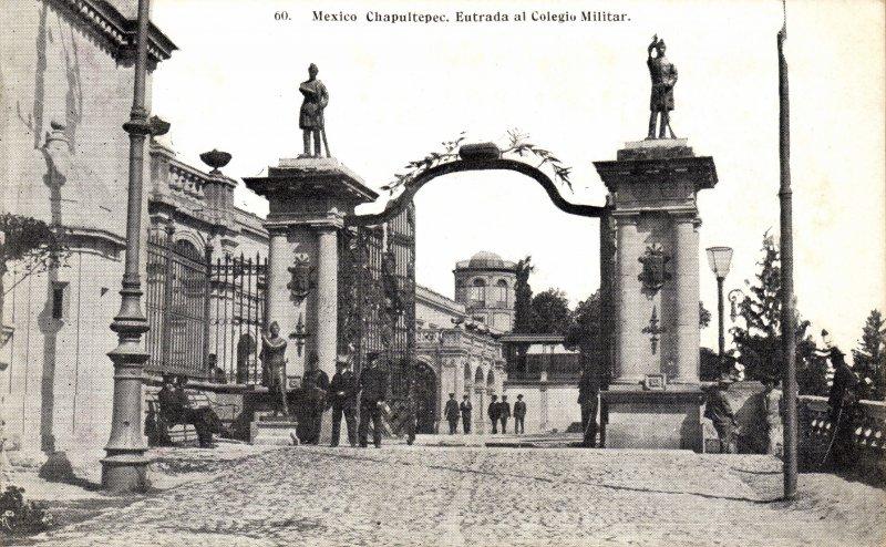 Entrada a la Castillo de Chapultepec