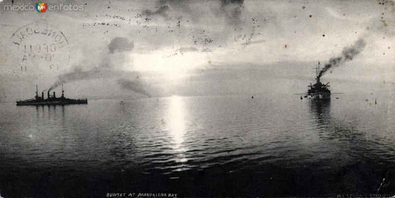 Atardecer en Bahía Magdalena (1908)