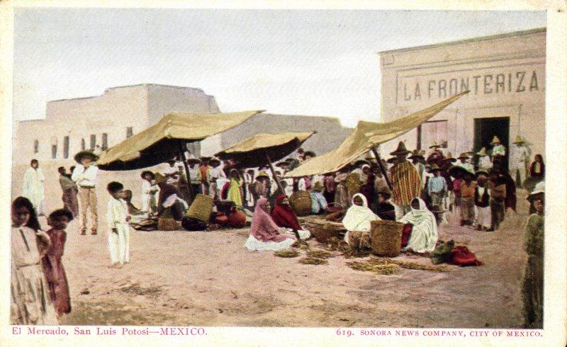 El mercado de San Luis Potosí
