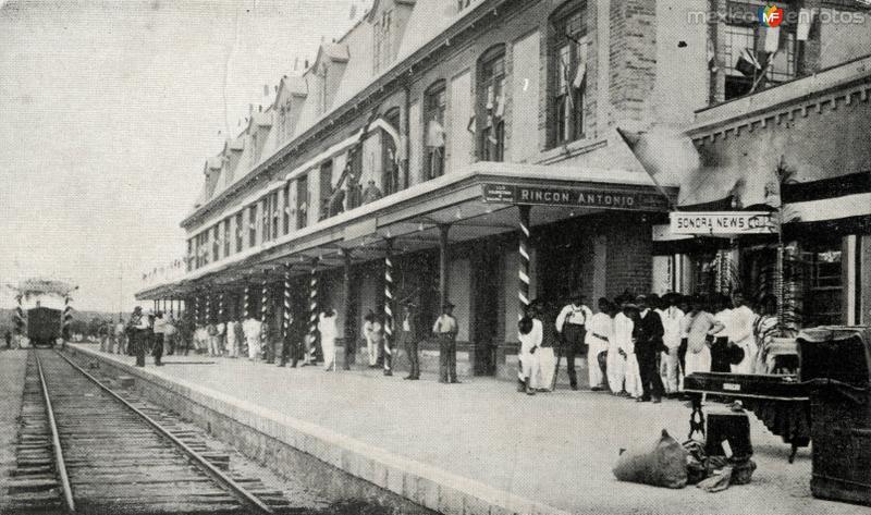 Estación del Ferrocarril en Marías Romero (antiguamente Rincón Antonio)