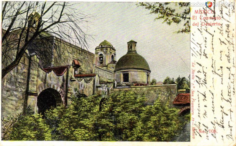 Convento en el Desiero de los Leones
