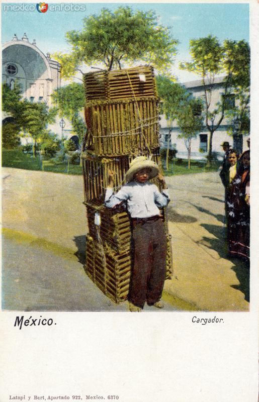 Fotos de , , M�xico: Ni�o cargador