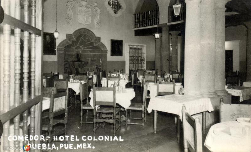 Comedor del Hotel Colonial