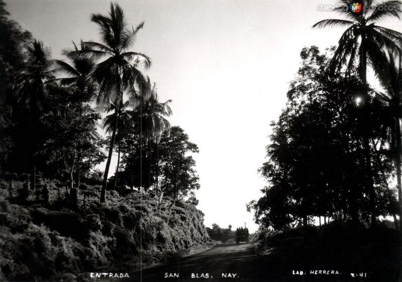 Entrada a San Blas
