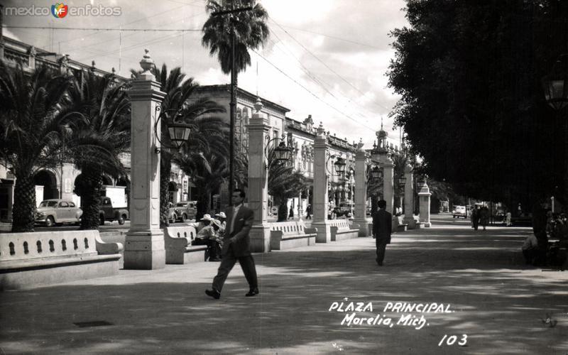Plaza Principal de Morelia