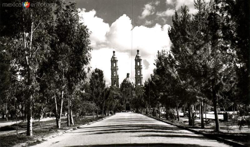 Calza y Templo de Guadalupe