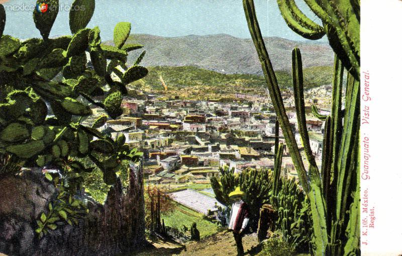 Vista panorámica de Guanajuato
