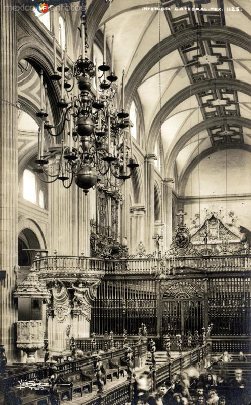 Interior de la Catedral Metropolitana