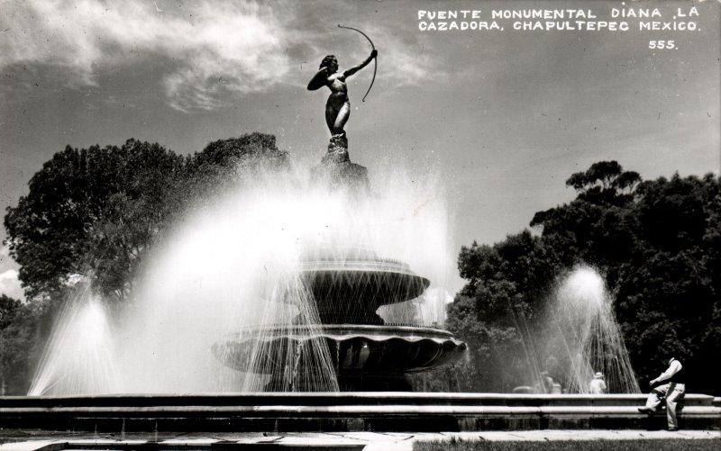 Fuente de la Diana Cazadora, en el Paseo de la Reforma