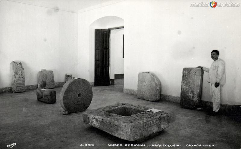 Museo Regional de Arqueología de Oaxaca