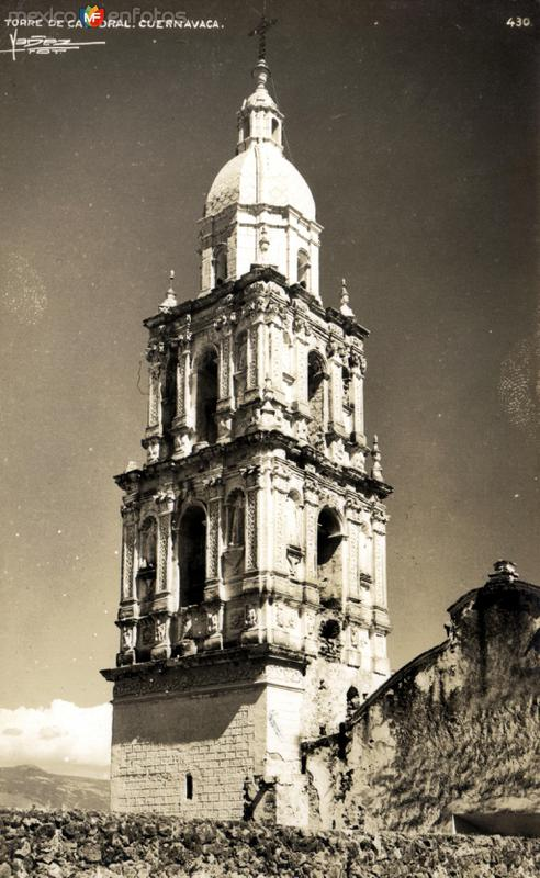 Torre de la Catedral de Cuernavaca