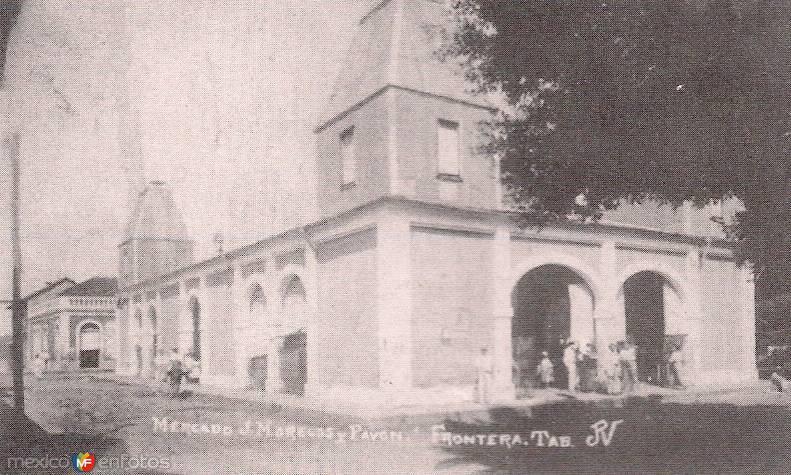MERCADO ANTIGUO, CNTLA, TAB. 1936