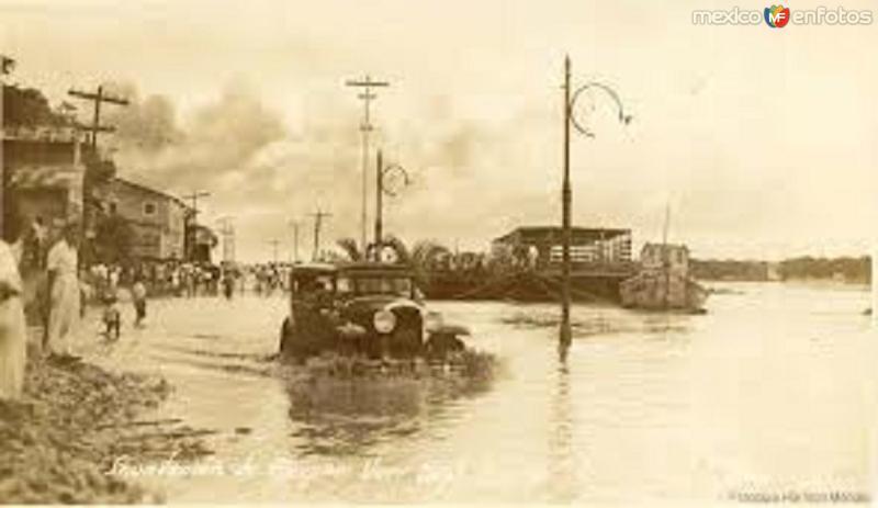 INUNDACION EN VILLAHERMOSA, TAB. 1926