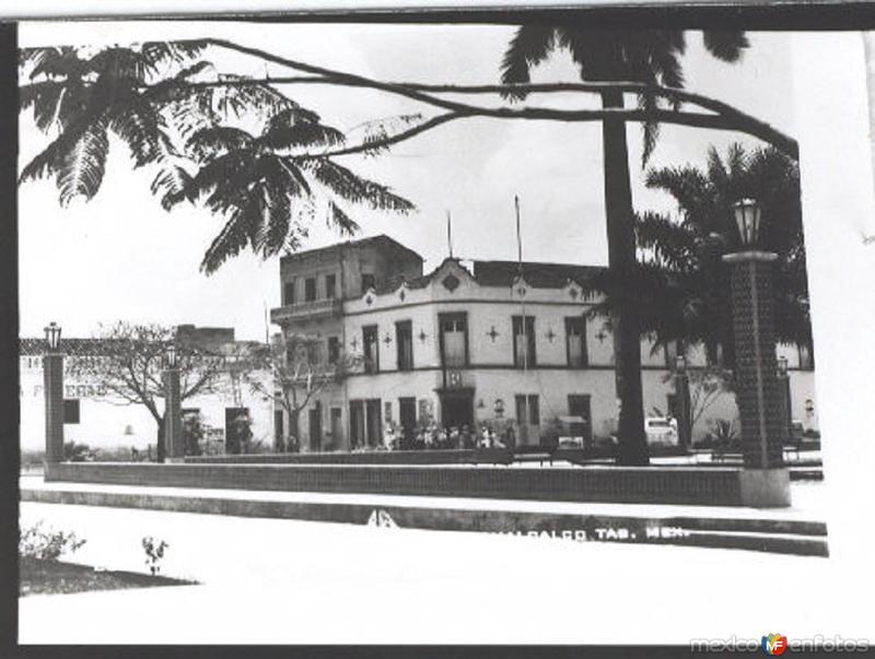 PARQUE CENTRAL COMACALCO, TAB. 1930