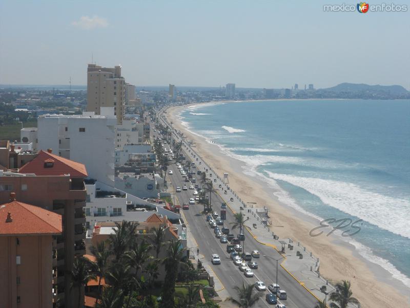 Panoramica Aerea de Mazatlán!