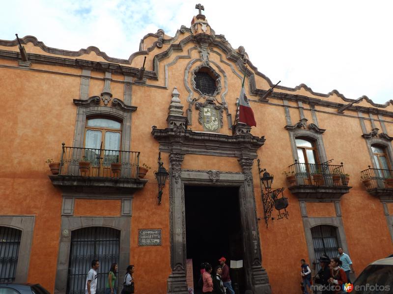 Fotos de Quer�taro, Quer�taro, M�xico: Casa de la Marquesa de la Villa del Villar (Siglo XVIII). Agosto/2012