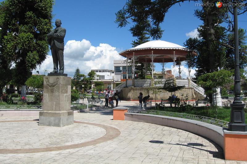 Lázaro Cárdenas en la Plaza