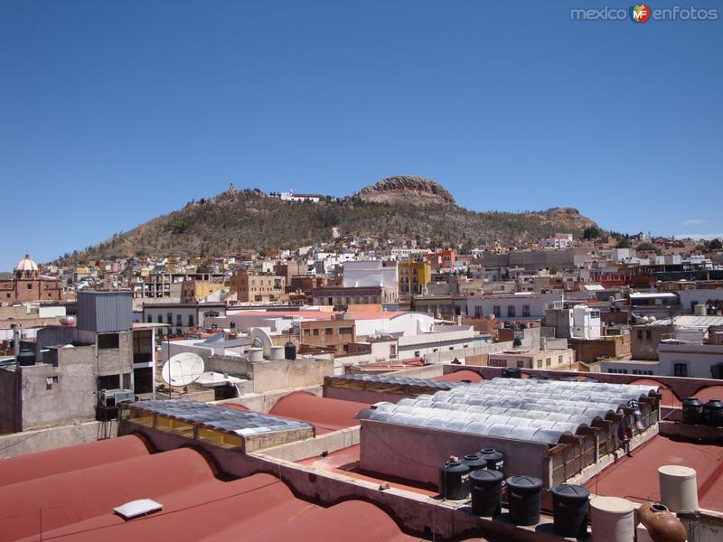 Fotos de Zacatecas, Zacatecas, M�xico: Cerro emblem�tico