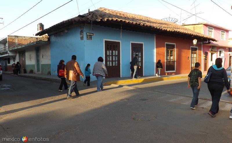 Calles del Pueblo Mágico de Chignahuapan, Puebla. Noviembre/2012