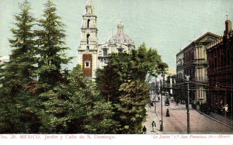 Jardín, Templo y Calle de Santo Domingo