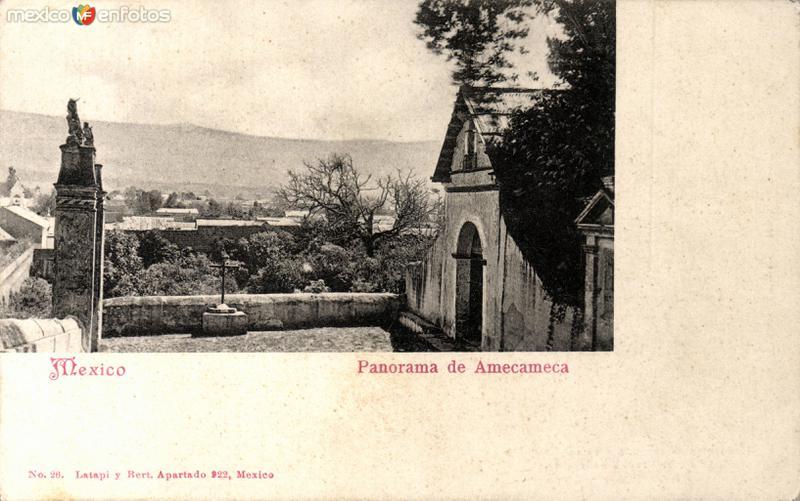 Vista panorámica de Amecameca