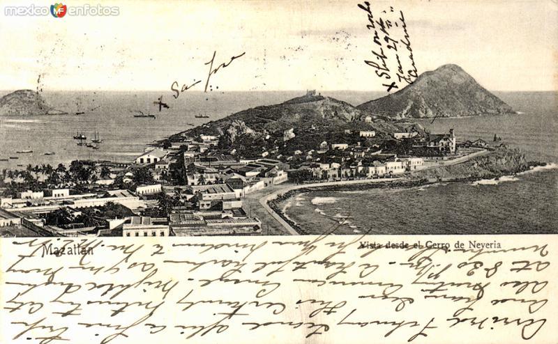 Vista desde el Cerro de Nevería