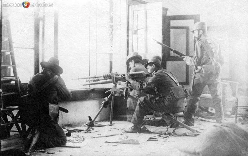 Francotiradores en acción - Veracruz (1914)