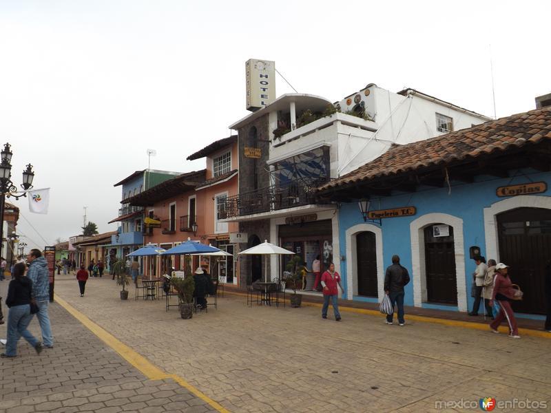 Pueblo mágico de Chignahuapan, Puebla. Noviembre/2012