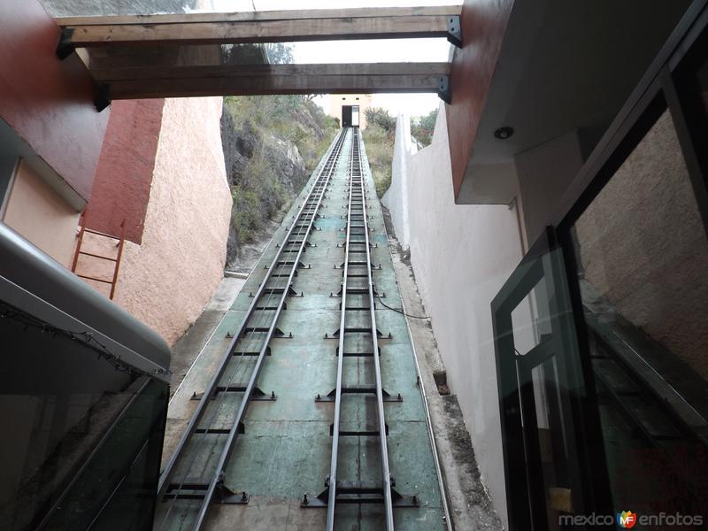 "Funicular al monumento ""El Pipila"". Guanajuato. Noviembre/2012"
