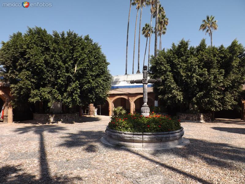 Interior de la ex-hacienda Corralejo, Gto. Noviembre/2012