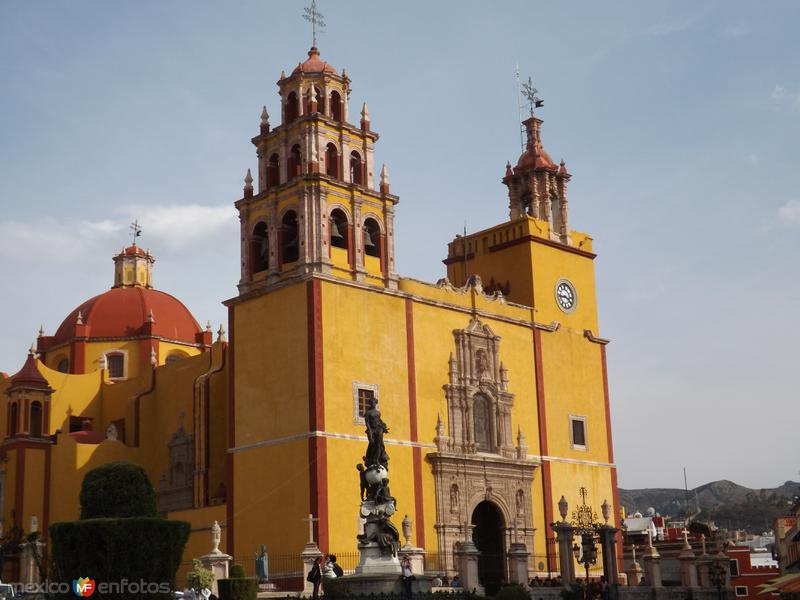 Basílica de Guanajuato. Noviembre/2012