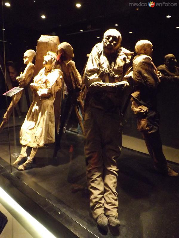 Las momias. Cd. de Guanajuato. Noviembre/2012
