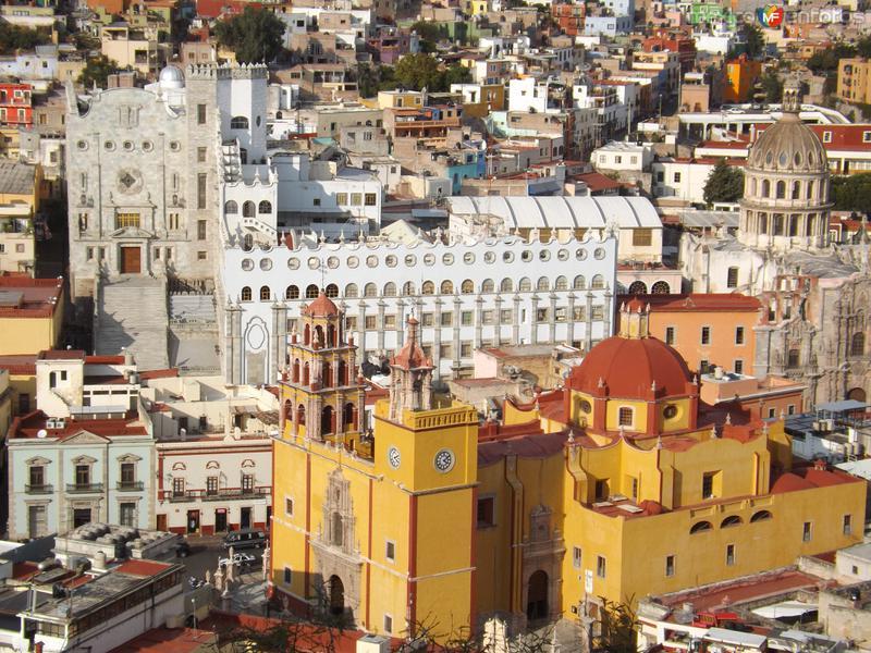 Basílica y Universidad de Guanajuato