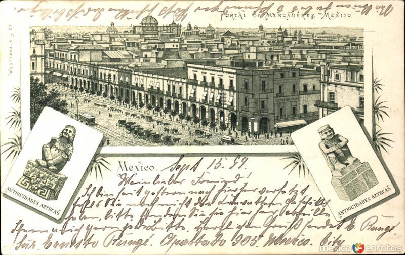 Zócalo y Palacio de Gobierno