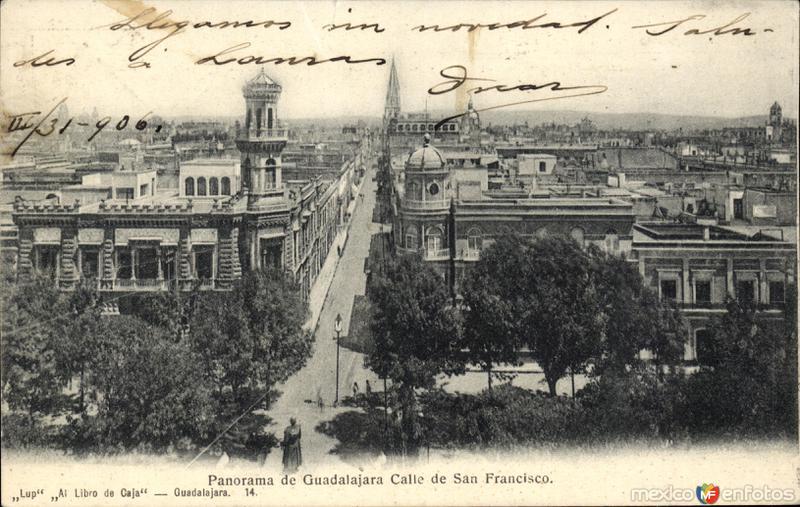 Vista panorámica y Calle de San Francisco